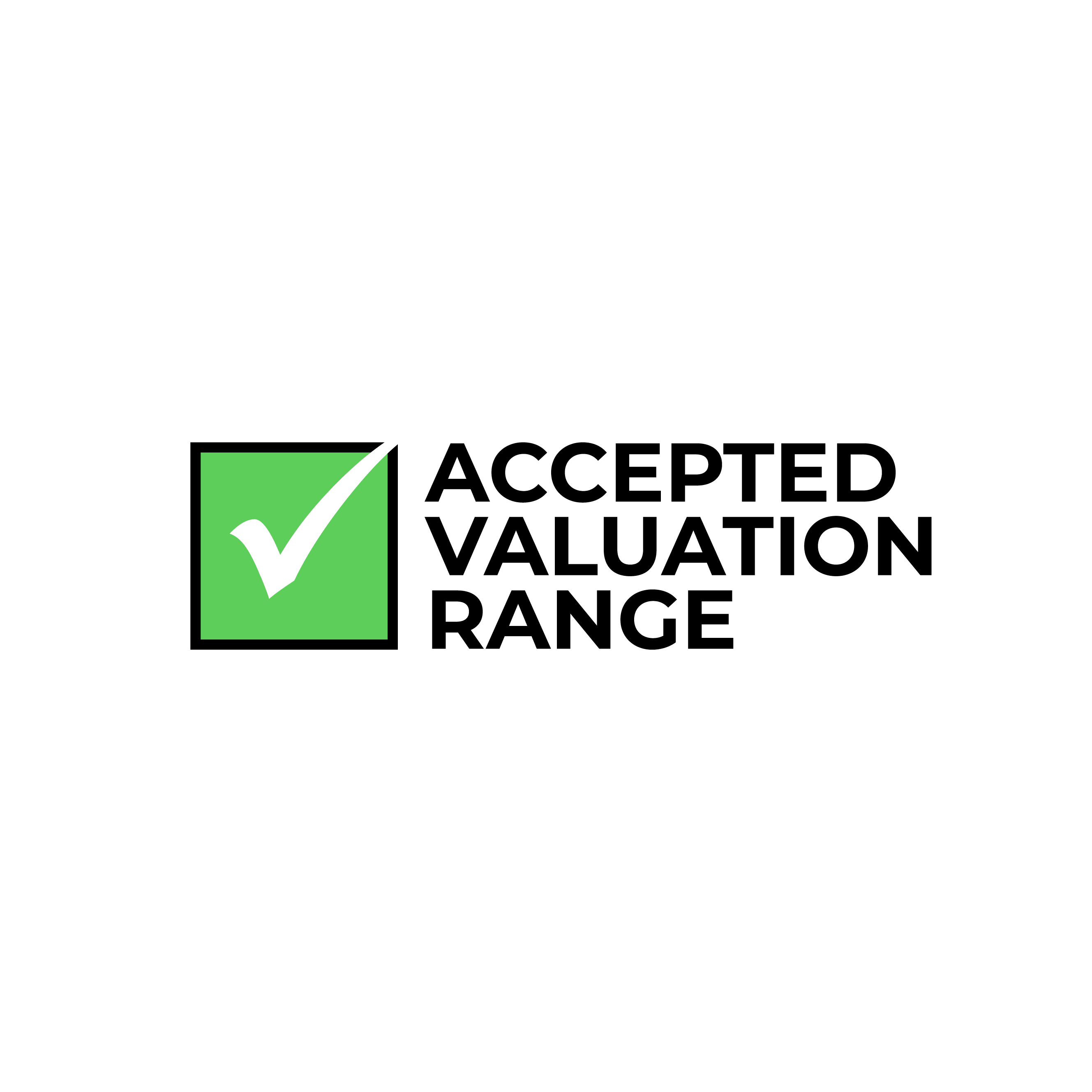 Accepted Valuation Range